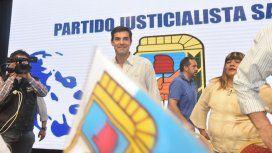 El gobernador de Salta, Juan Manuel Urtubey, en el acto del Día de la Lealtad