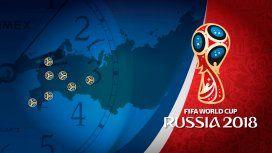 A preparar el despertador: así serán los horarios de los partidos para Rusia 2018