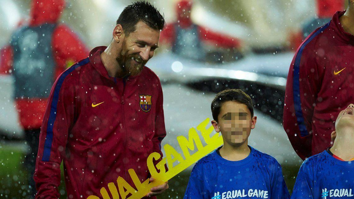 Abre el armario y rompe un récord: la nueva marca que alcanzó Lionel Messi
