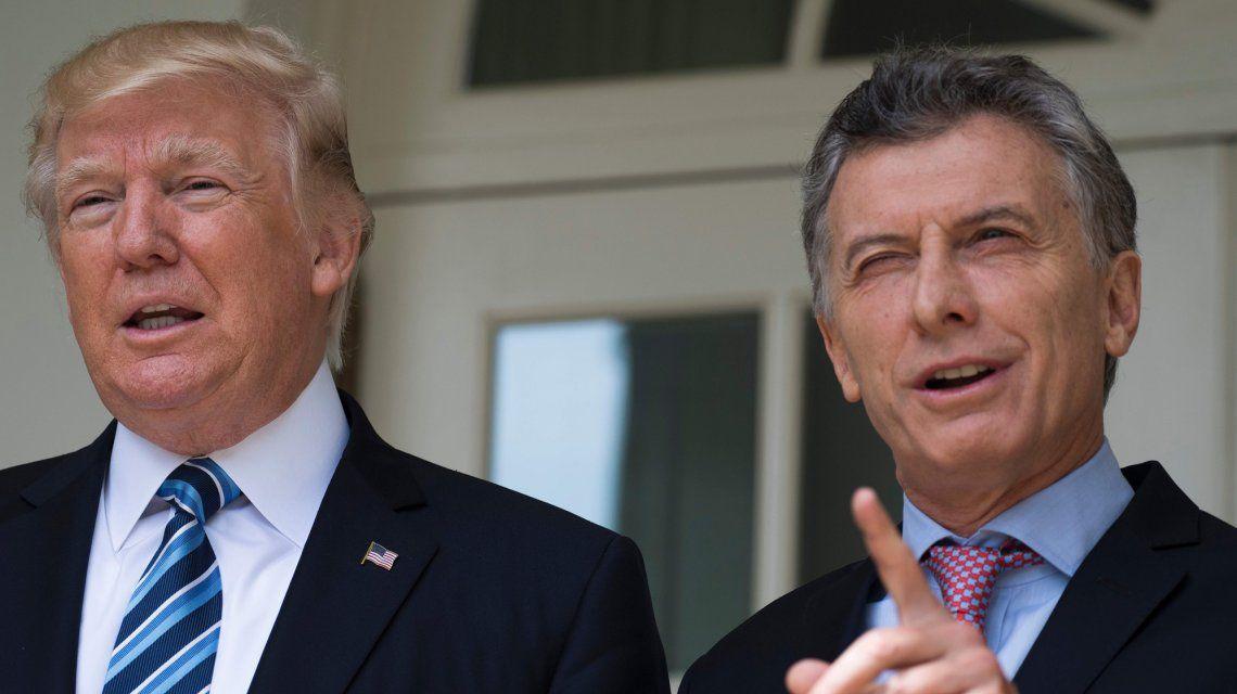 Cerdo, Biodiesel y negocios: la charla telefónica de Macri con Trump