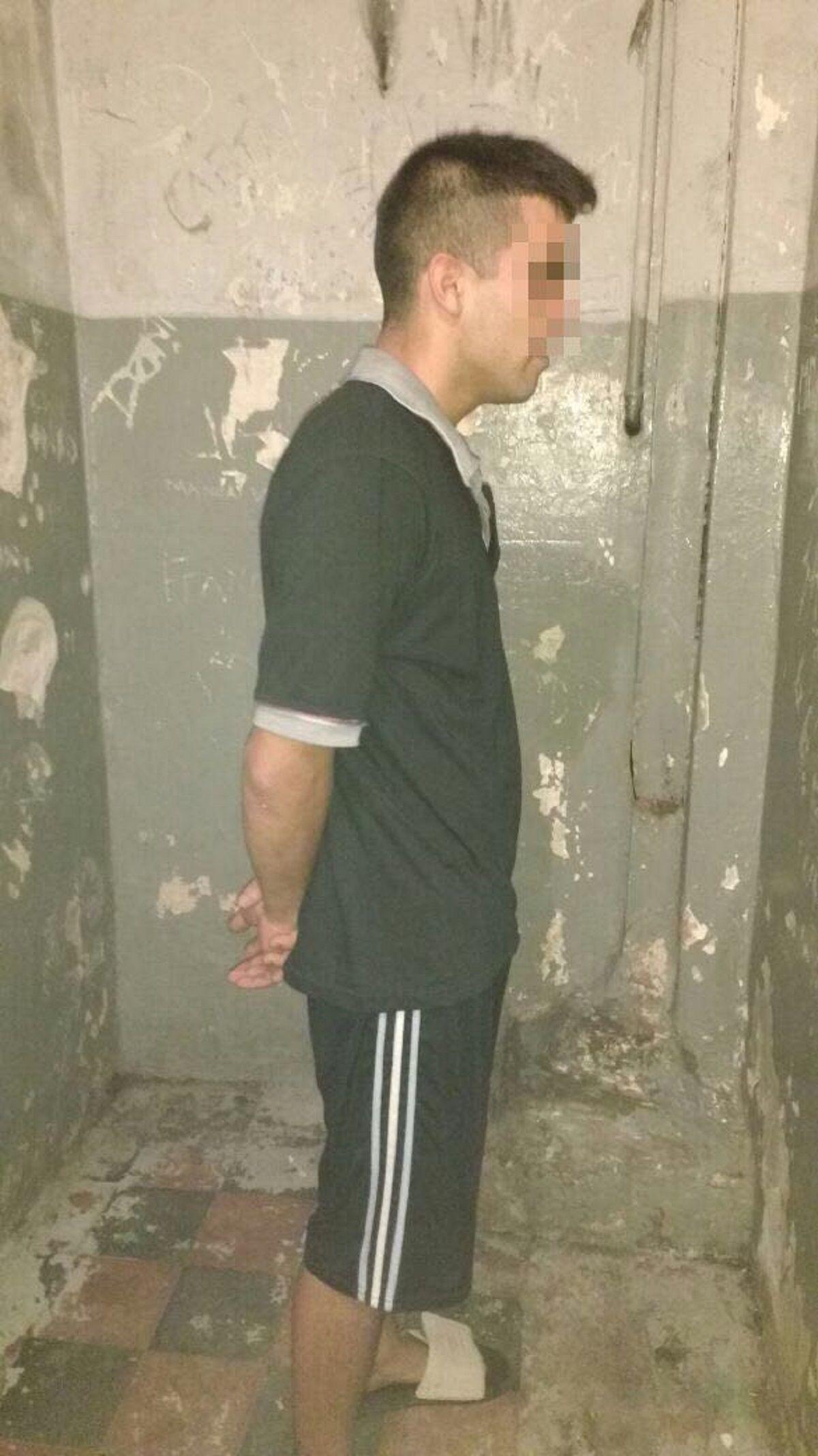 Mickey al ser detenido