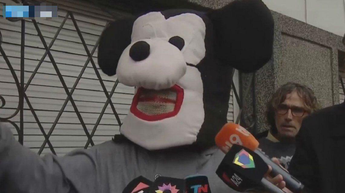 Mickey cuando se hizo mediáticamente famoso