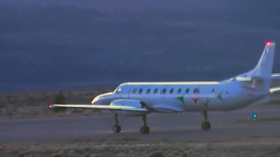 Partió de Esquel a Buenos Aires el avión con el cuerpo hallado en el río Chubut