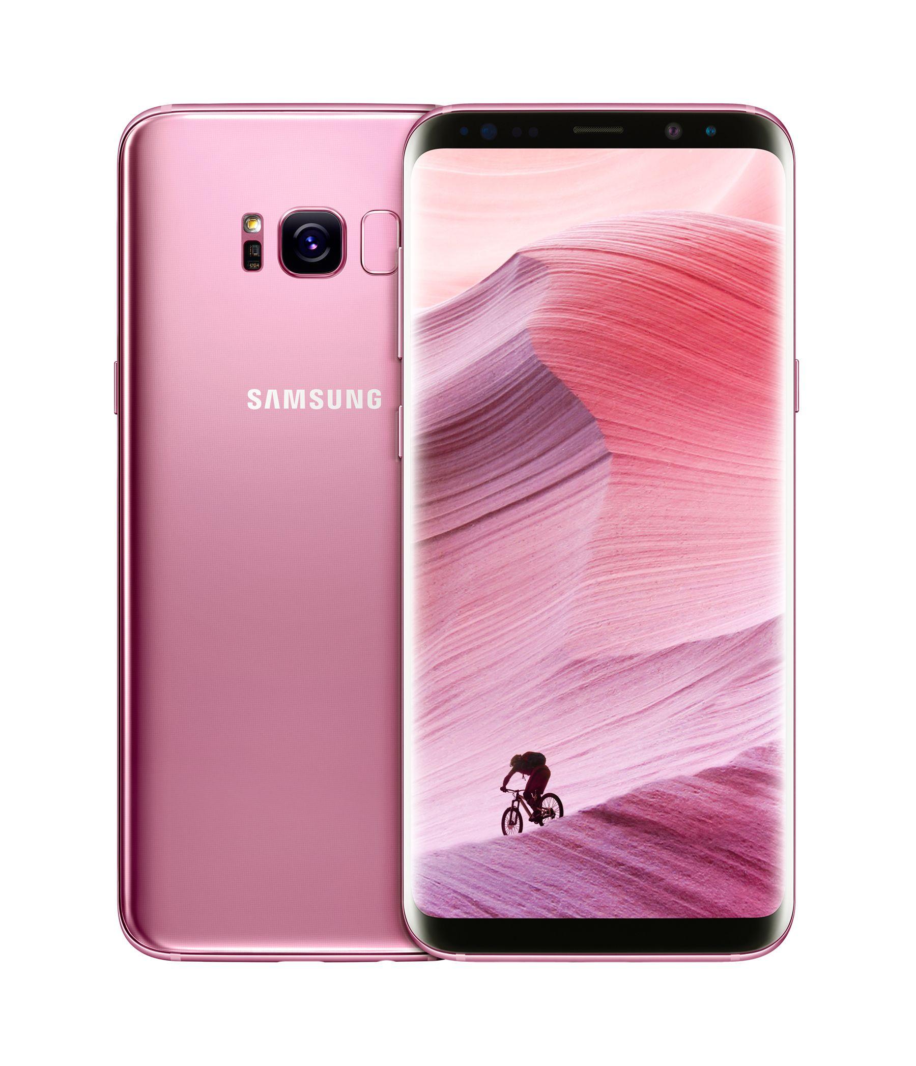 Samsung Galaxy S8 Pink: Nuevo color que completa la gama