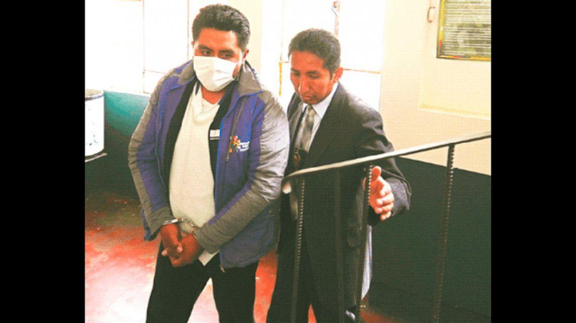 Grover mantuvo relaciones sexuales con el cadáver de una mujer en el hospital de Clínicas de La Paz
