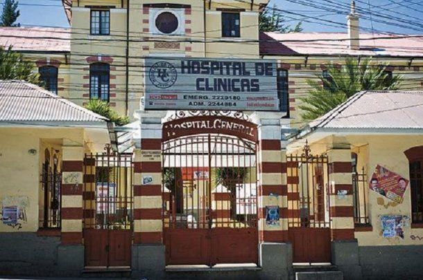 Ocurrió en el Hospital de Clinicas de La Paz, Bolivia