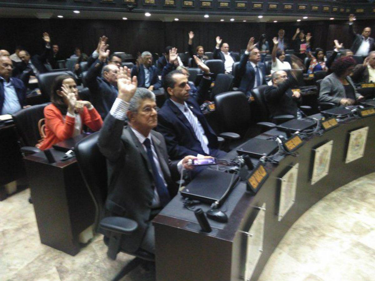 La Asamblea Nacional de Venezuela no reconoció los resultados