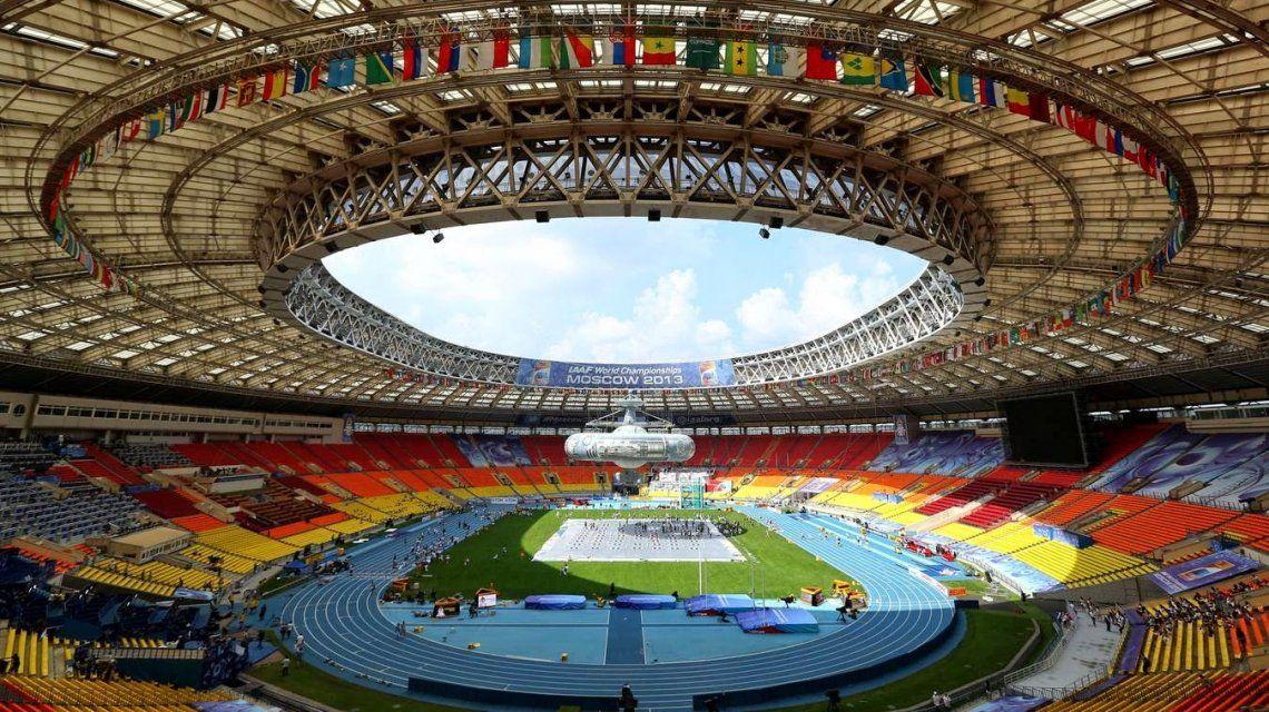 El Olímpico Luzhniki