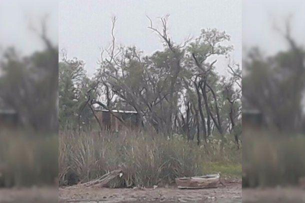 <p>Vista del rancho en zona de islas, donde se habría concretado el homicidio</p><p></p>