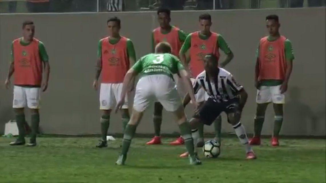 ¿Dónde jugaste?, la provocación de Robinho a un jugador del Chapecoense