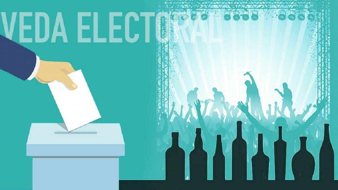Legislativas: ¿Qué se puede hacer y qué no durante la veda electoral?