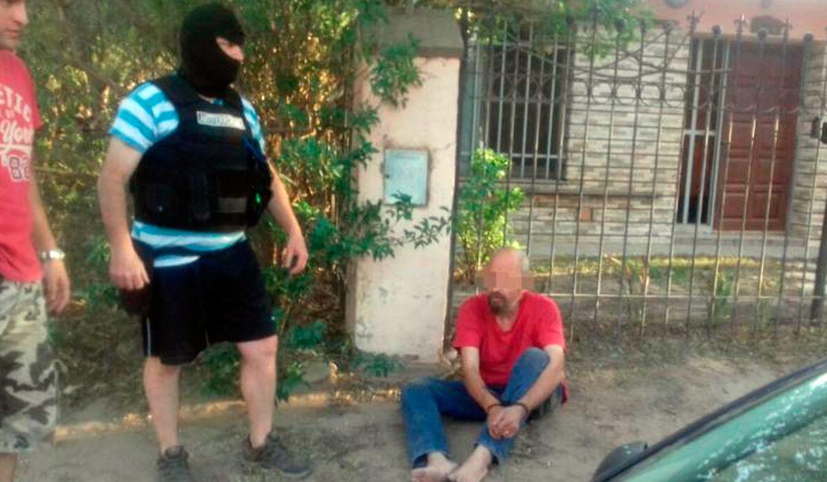 Manrique fue detenido tras tres años y ocho meses prófugo