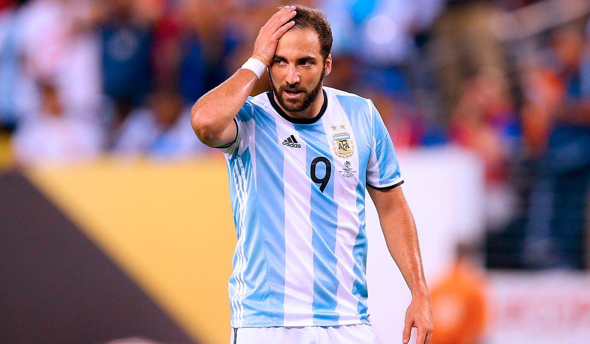 Higuaín volvió a quedar afuera de la Selección: ¿fin de ciclo?