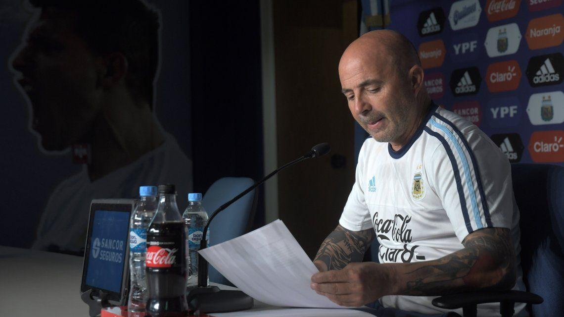 Sampaoli convocó a una promesa que aún no es titular en su equipo