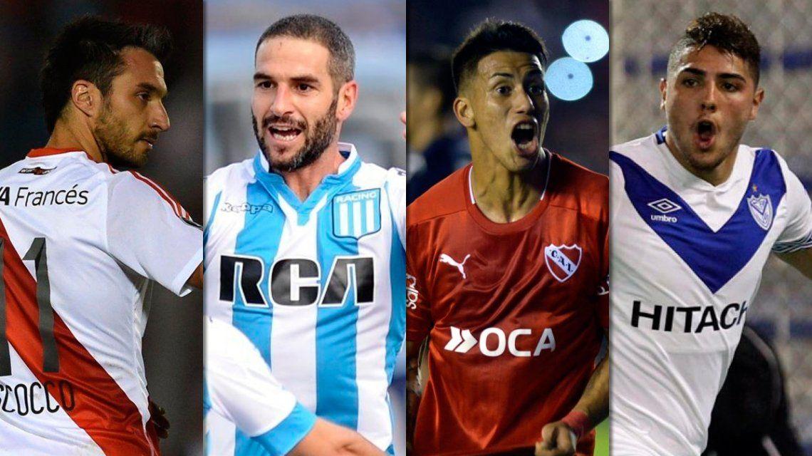 Tras el domingo electoral, se viene una semana a puro fútbol para los equipos argentinos