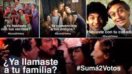 #Suma2Votos se convitió en TT en Argentina