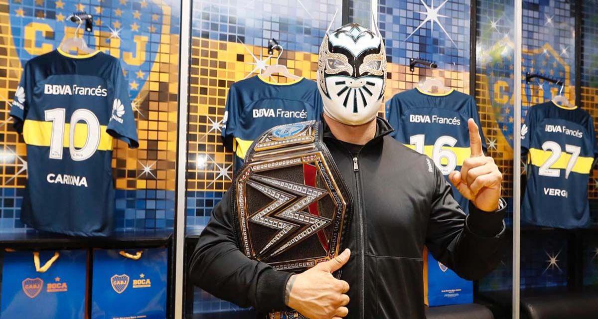 Dos potencias se saludan: las superestrellas de la WWE y el Mundo Boca