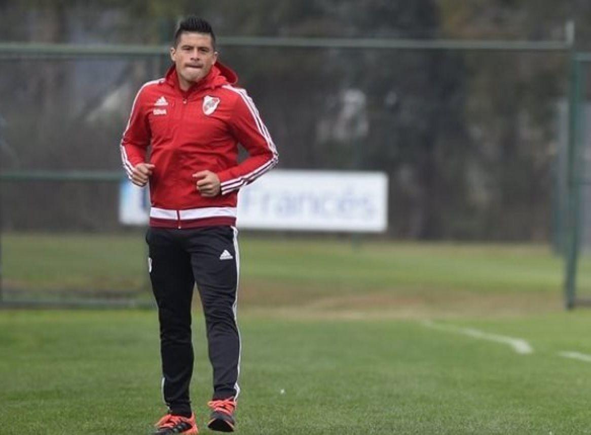 Moreira se lesionó en el entrenamiento de River