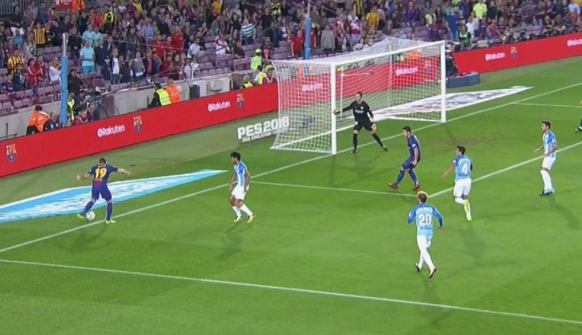 Barcelona ganó pero con polémica: mirá el primer gol ante el Málaga