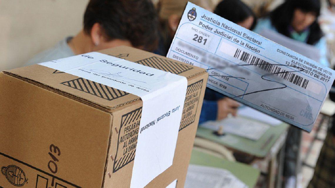El papel de las PASO 2017: ¿hay que llevar la constancia de voto en las elecciones de octubre?