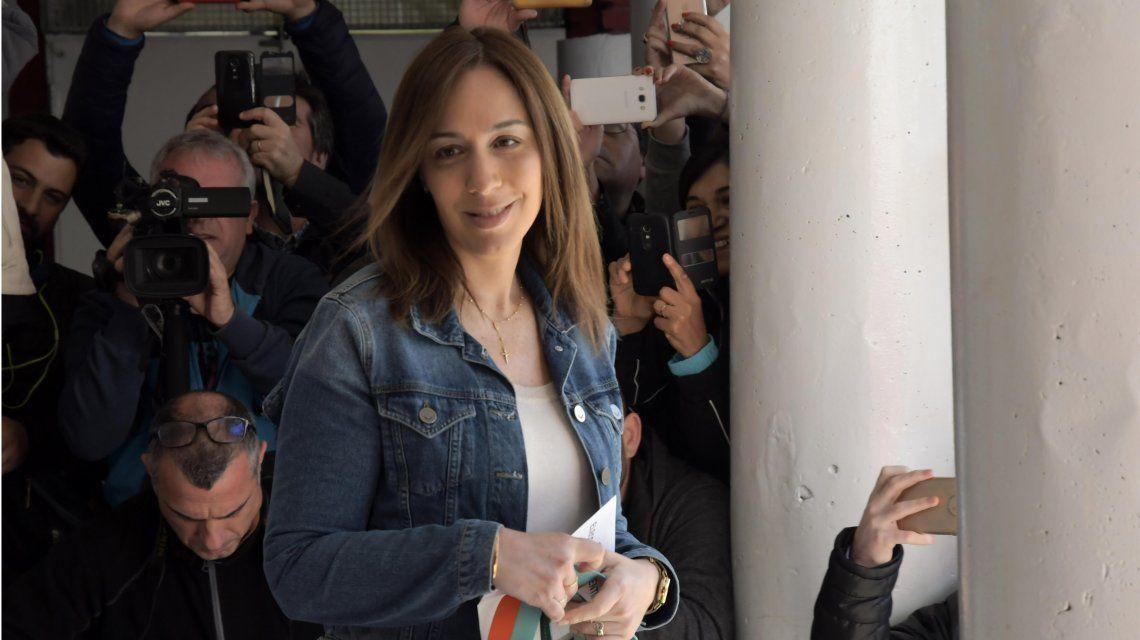 Vidal votó en una escuela de Castelar