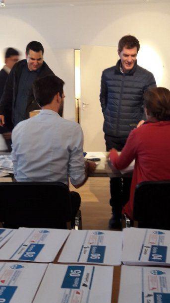 Loperfido quiso votar en Alemania sin el DNI - Crédito: @ARGprovincia25
