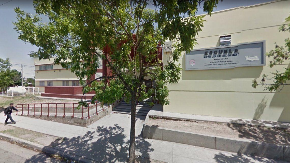 La escuela donde fueron sorprendidos los solados