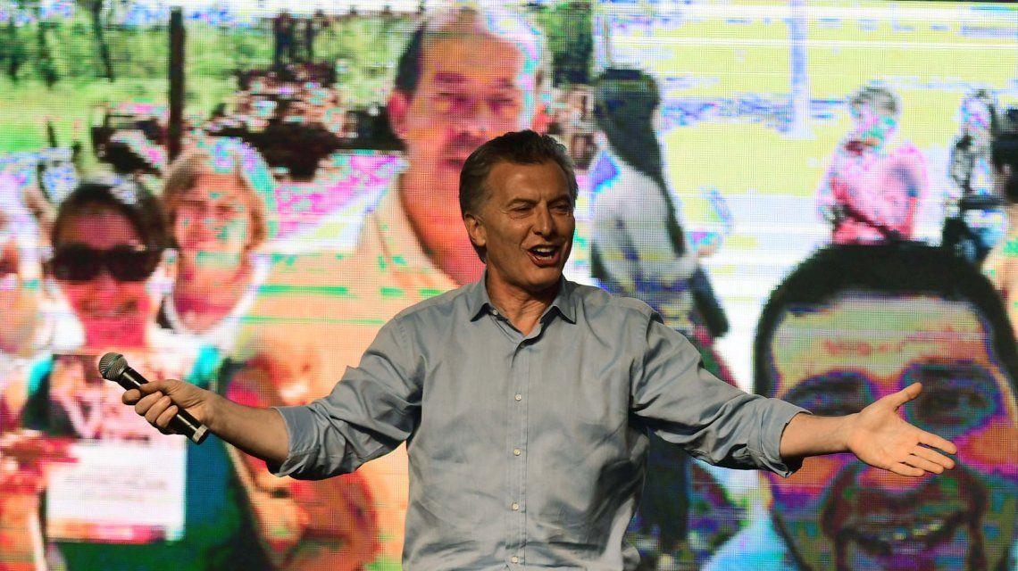 Mauricio Macri en Costa Salguero