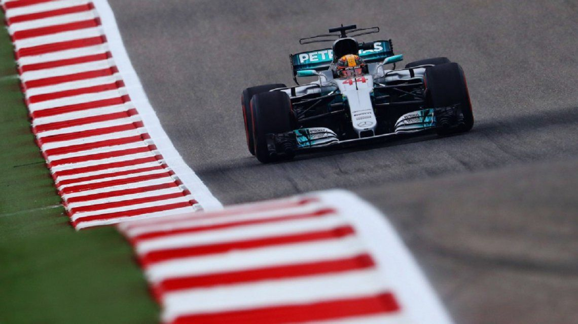 Lewis Hamilton en Austin