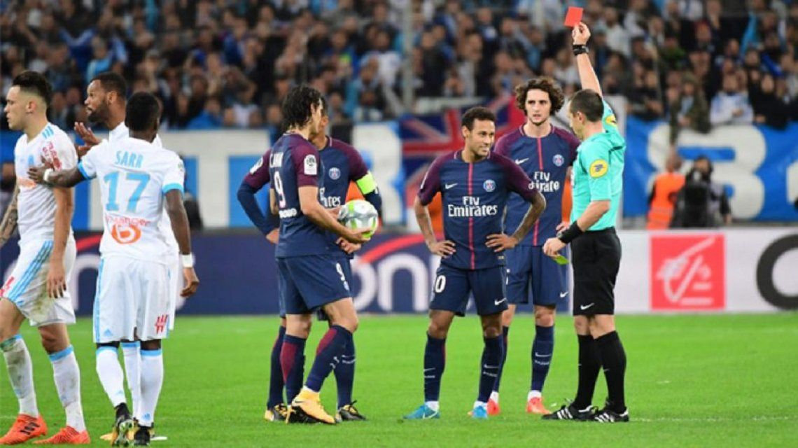 Neymar agredió a Ocampos