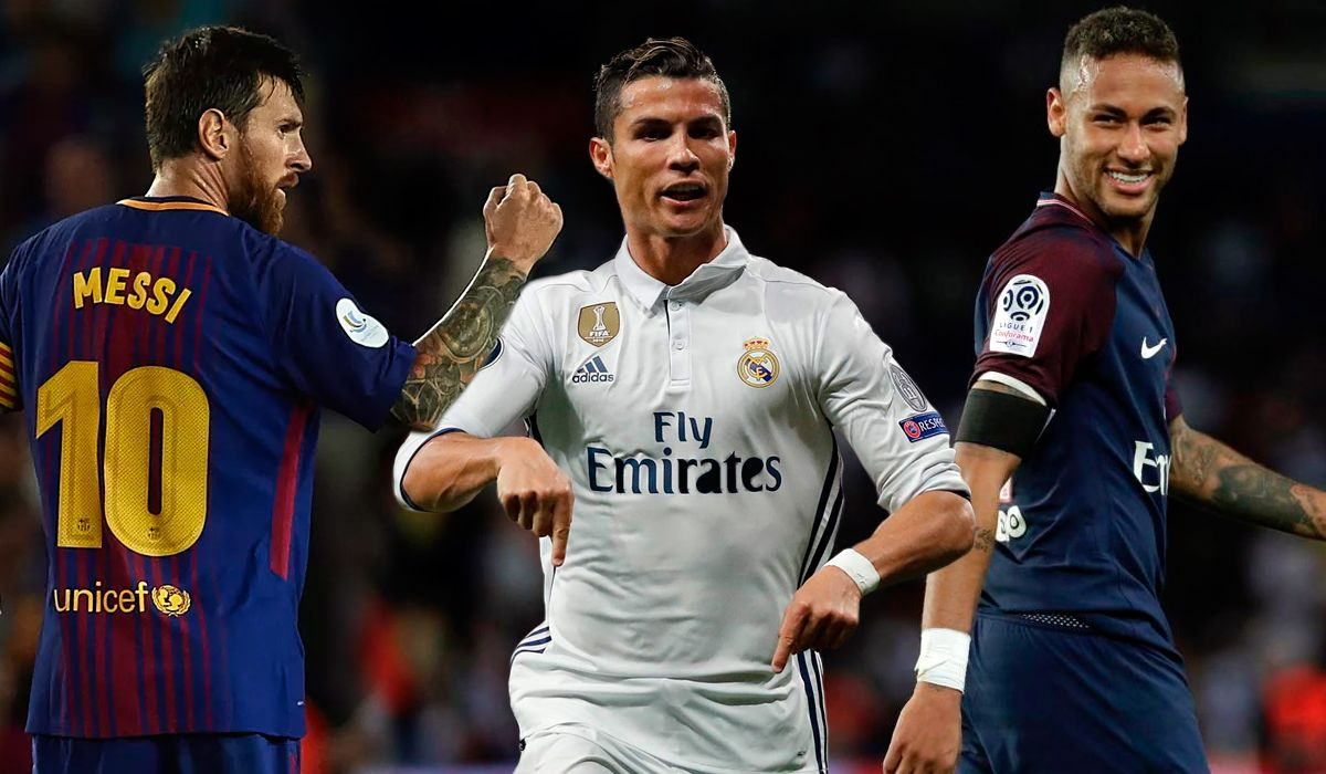 ¿Quién ganará? Messi, CR7 y Neymar compiten por el premio The Best