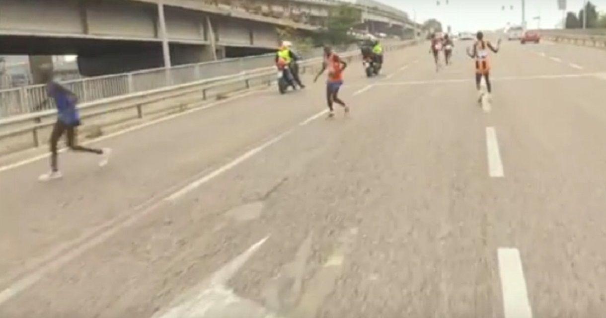 Perdieron la maratón por seguir la ruta equivocada