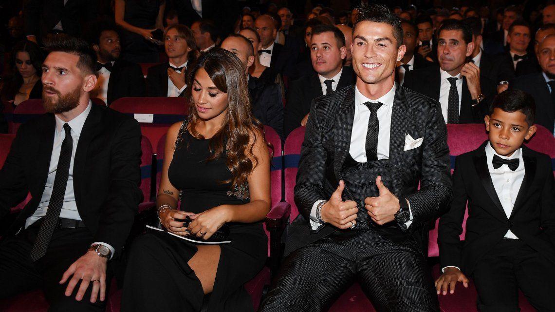 Cristiano Ronaldo volvió a ganarle a Messi y se quedó el premio The Best de la FIFA