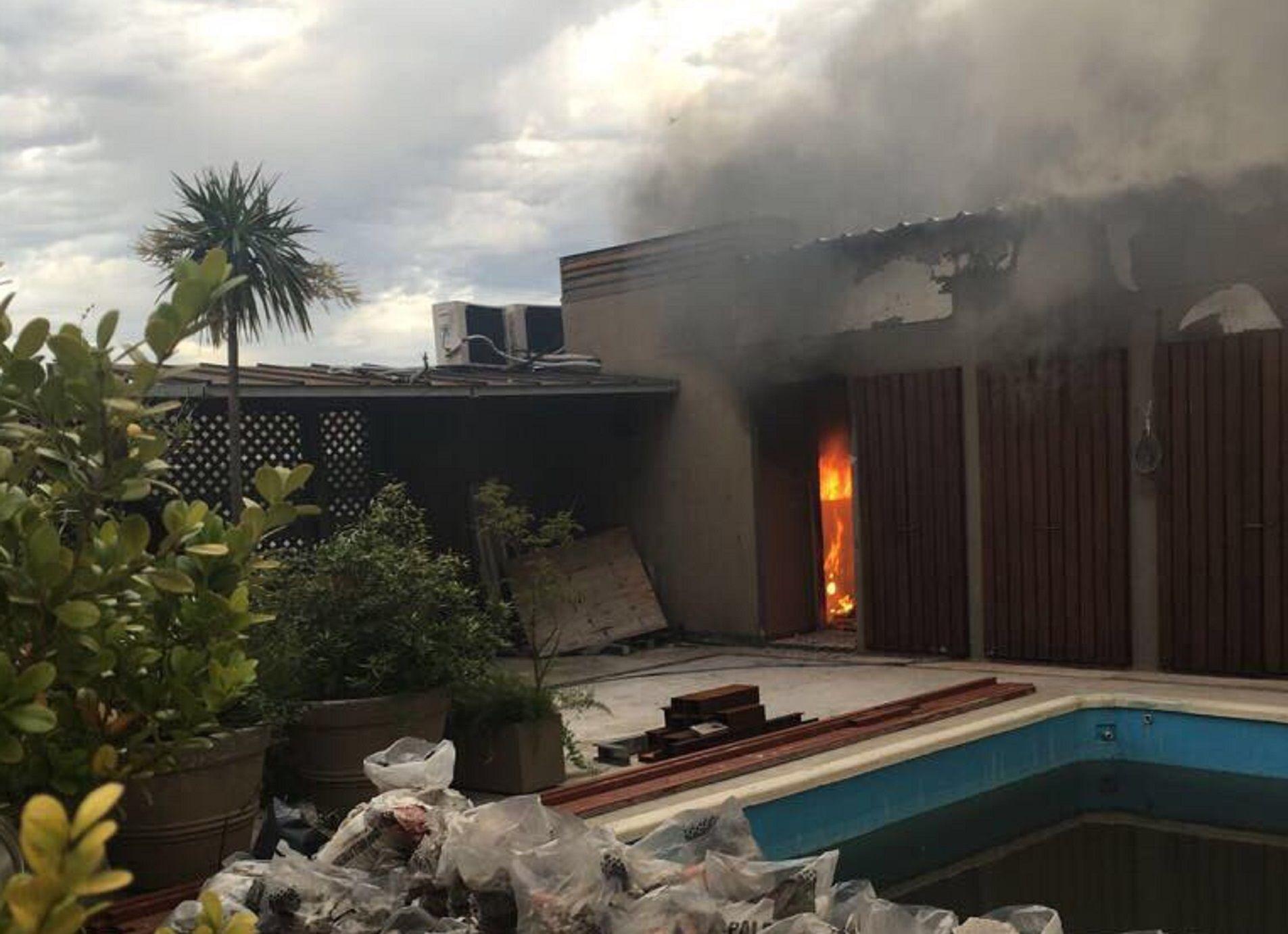 Se incendió  el departamento de Gustavo Sofovich en el Palacio Alcorta