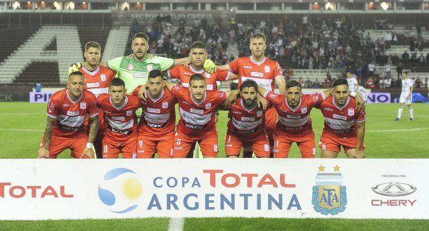 El festejo de Deportivo Morón tras acceder a la semifinal de la Copa Argentina<br>