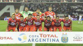 El festejo de Deportivo Morón tras acceder a la semifinal de la Copa Argentina