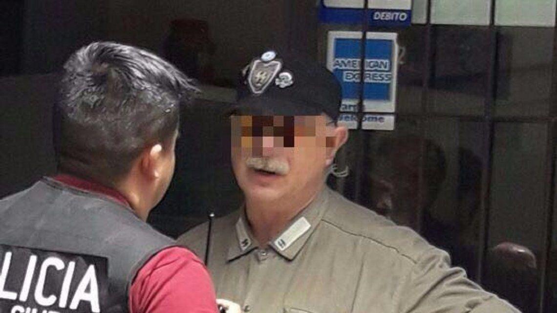 Abuelito nazi detenido en Caballito