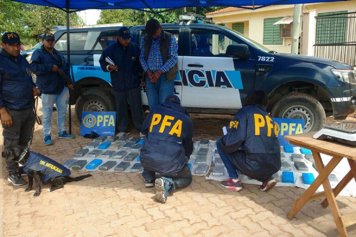 Procedimiento de la Policía Federal Argentina en Salta