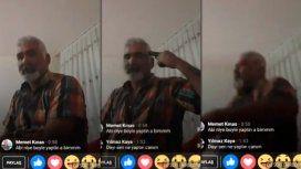 VIDEO: Se suicidó en Facebook Live porque su hija se casó sin su permiso