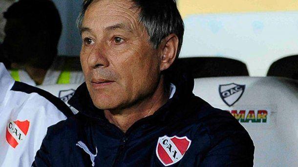 <p>Ariel Holan, técnico de Independiente</p>