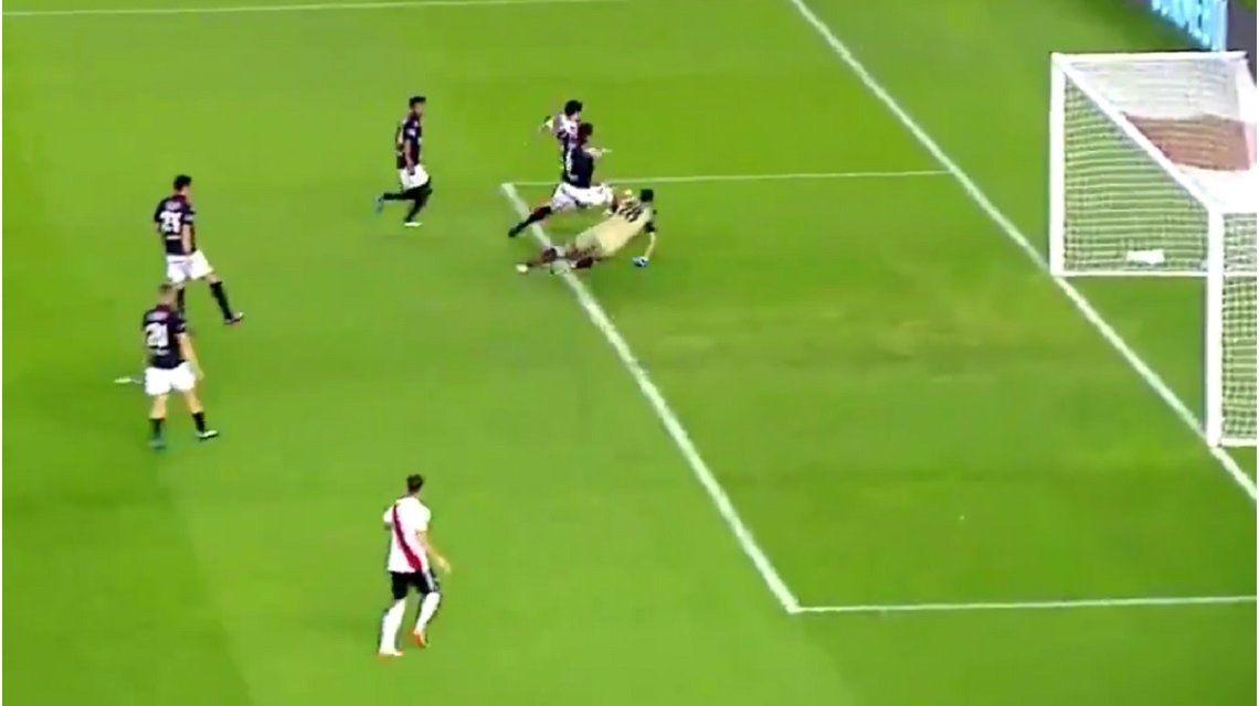 VIDEO: Scocco la clavó y pone a River con un pie en la final de la Libertadores