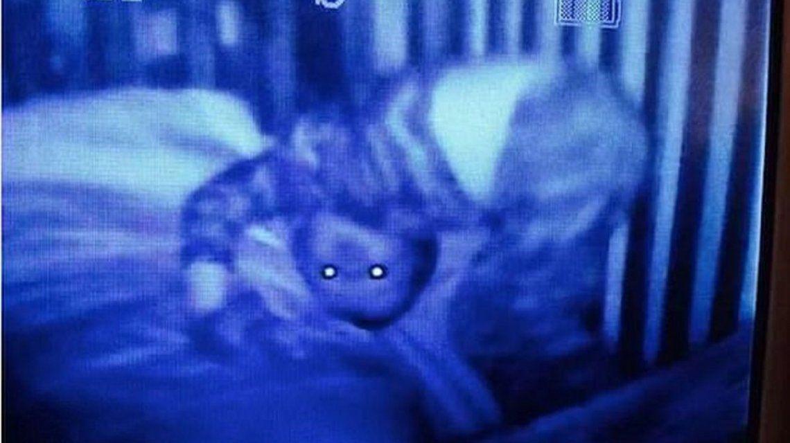 Las imágenes más aterradoras capturadas por los monitores para bebés