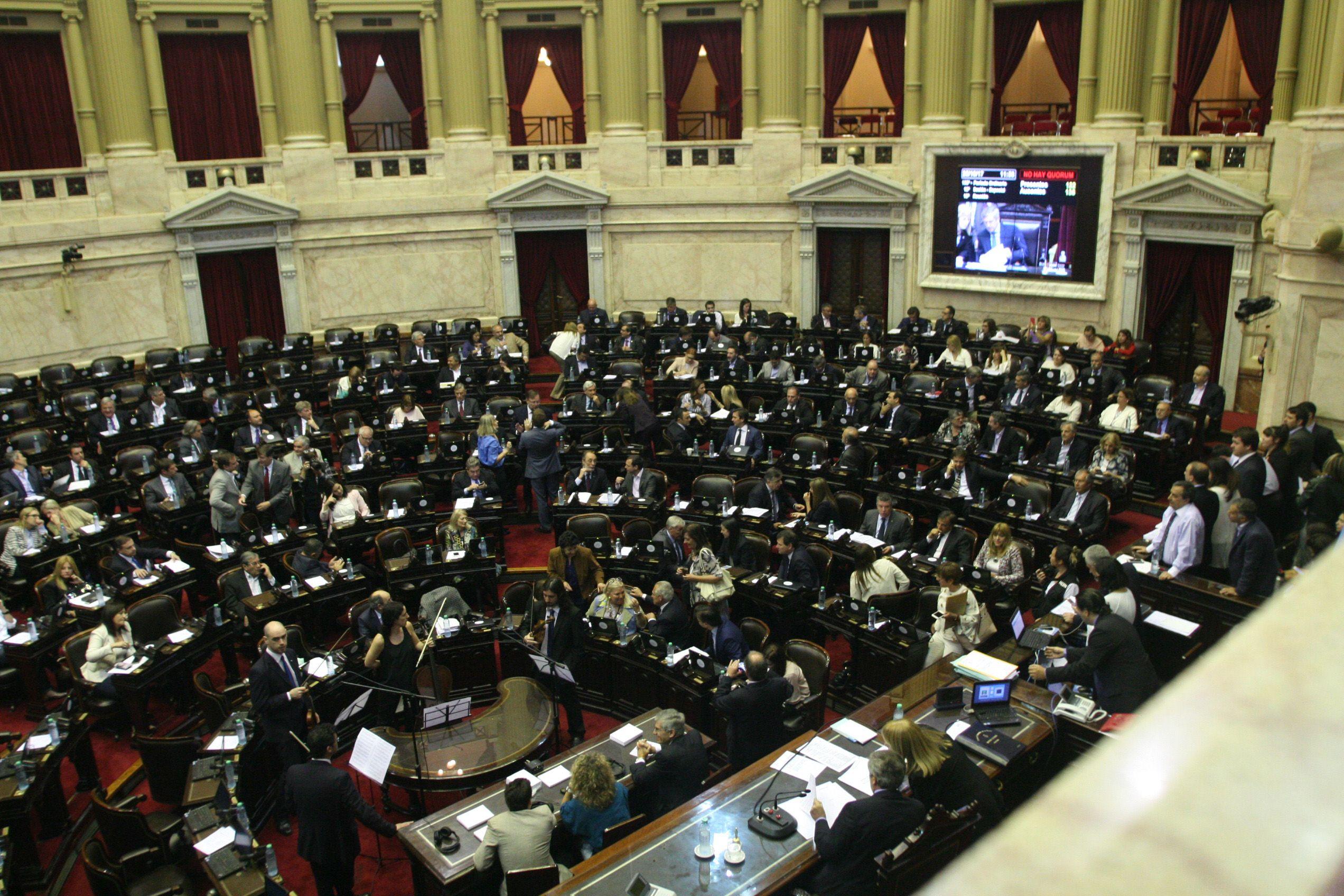 La votación del desafuero en Diputados (Foto: Ignacio Petunchi)