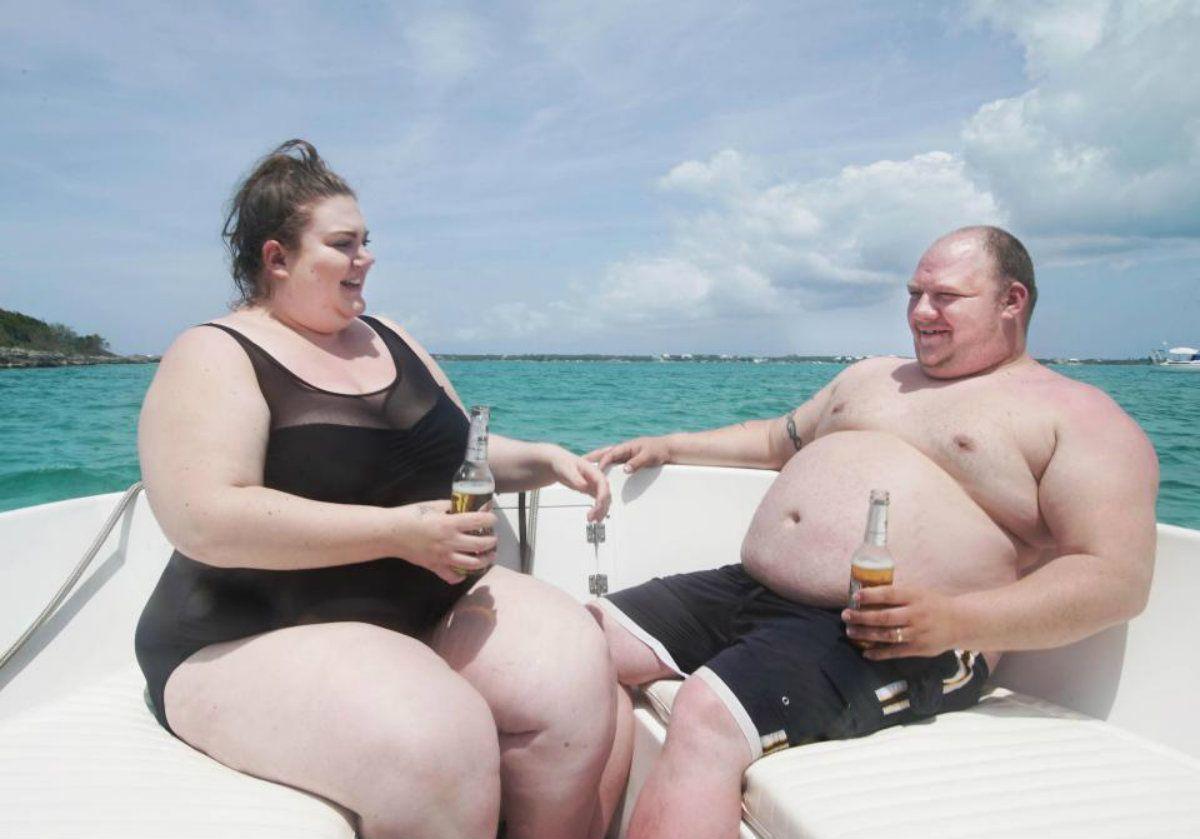 La pareja disfruta de unas vacaciones a su medida