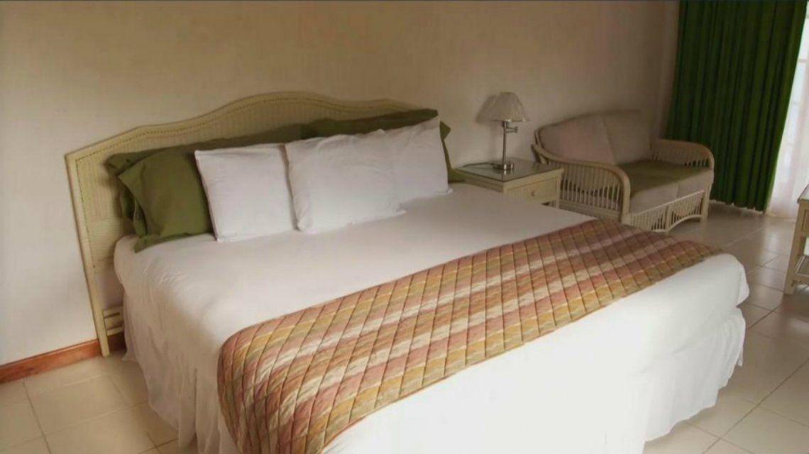 Las camas son amplias y están reforzadas para los huéspedes XL