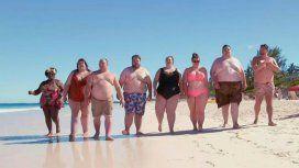 Los participantes del reality show están listos para disfrutar del mar