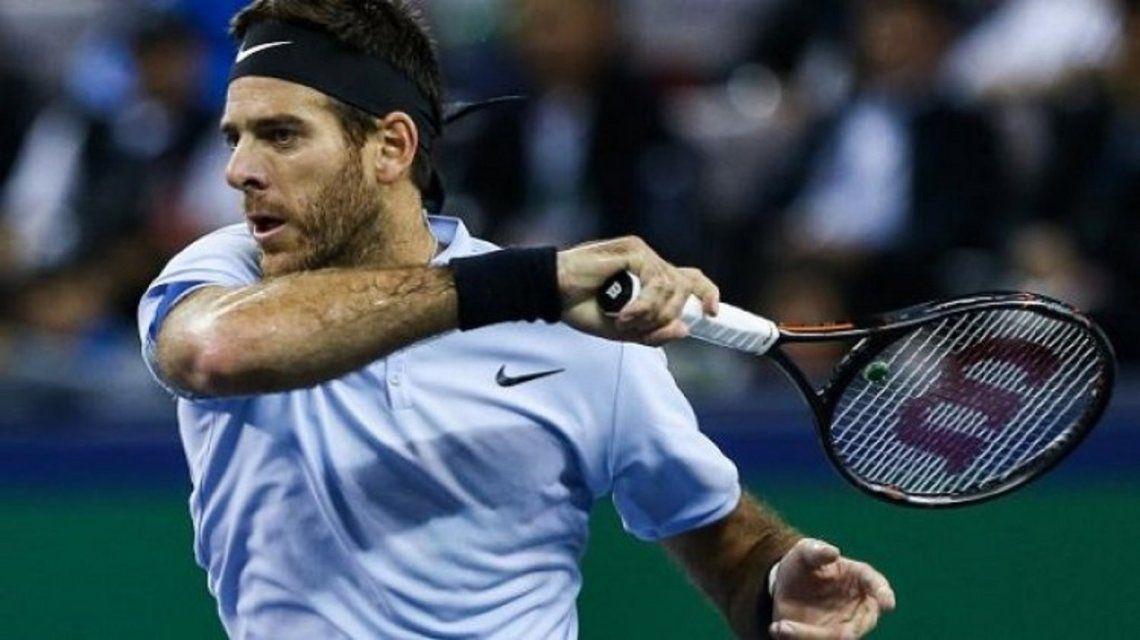 Del Potro debutó con un triunfo ante Joao Sousa en el ATP de Basilea