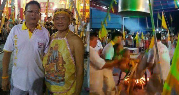 Lim Ba (izquierda) murió de un ataque al corazón