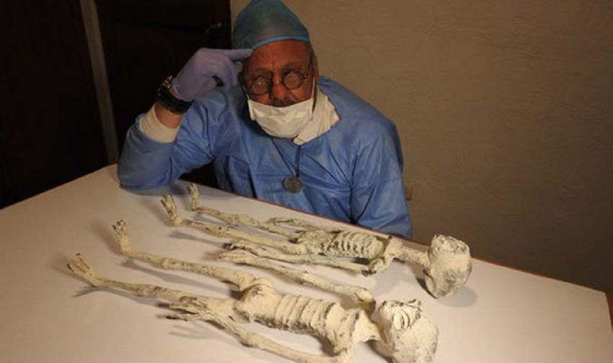 Momias extraterrestres de Nazca