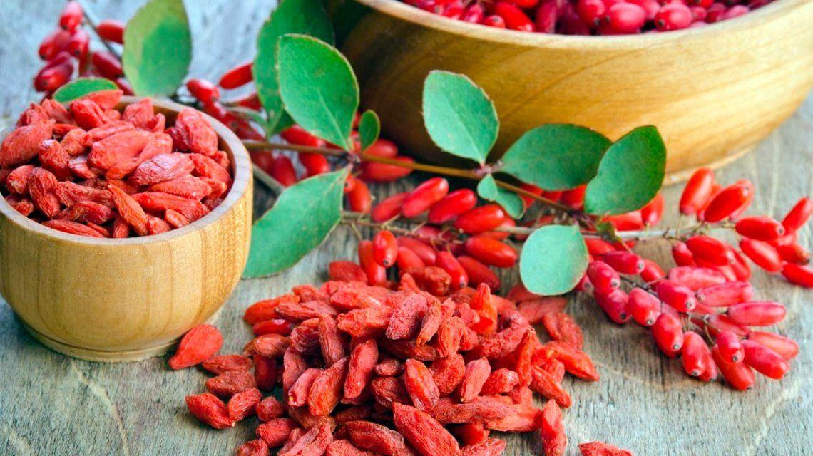 Prohíben la venta de un suplemento dietario hecho a base de bayas de goji